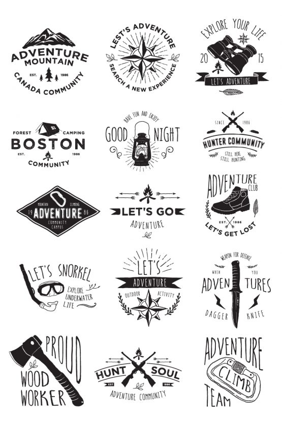 Adventure Activity Badges