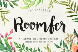 Roomfer typeface