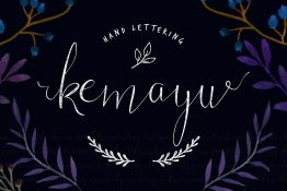 kemayu-handwriting