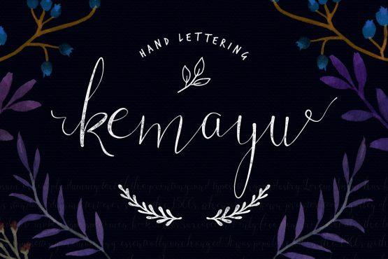 kemayu-handwriting
