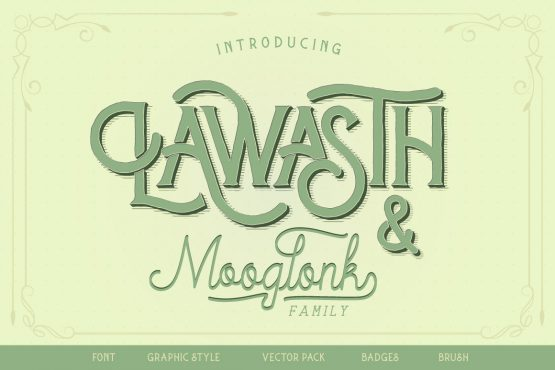 Lawasth typeface