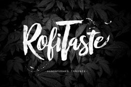 RofiTaste typeface