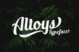 new altoys typeface