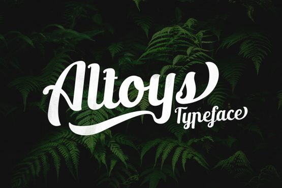new altoys typeface