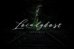 localghost typeface
