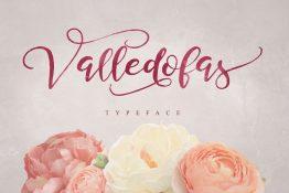 Valledofas Typeface