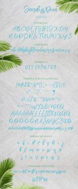 Jandys Dua Typeface