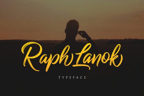 Raph Lanok Typeface