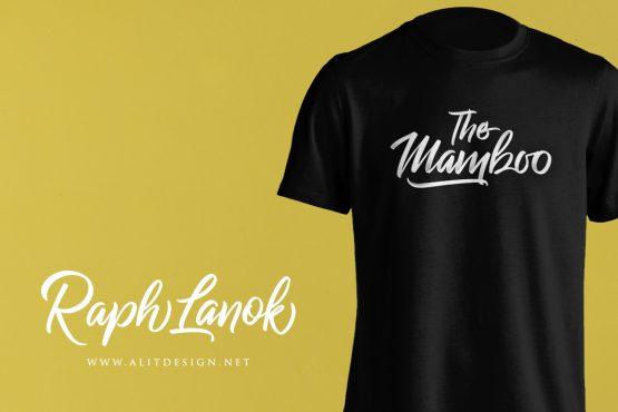 The Mamboo t-shirt Design