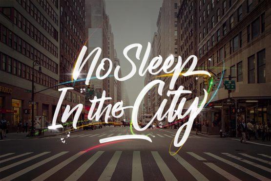 No Sleep In The City Raph Lanok