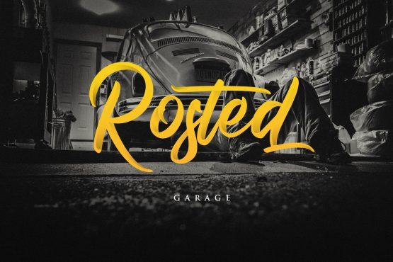Rosted Garage