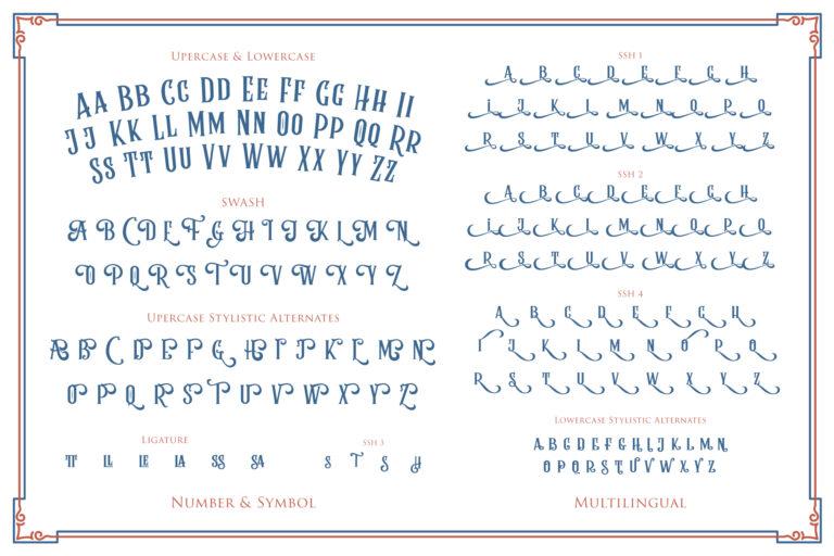 Rumble Brave Vintage Fonts